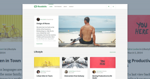 readable wp theme preview