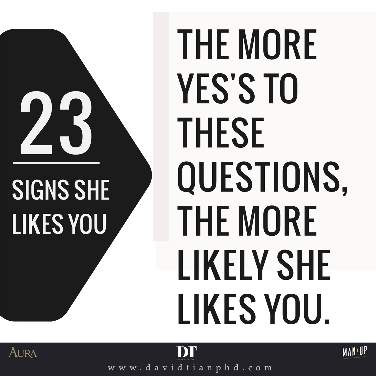 23 Signs She Likes You