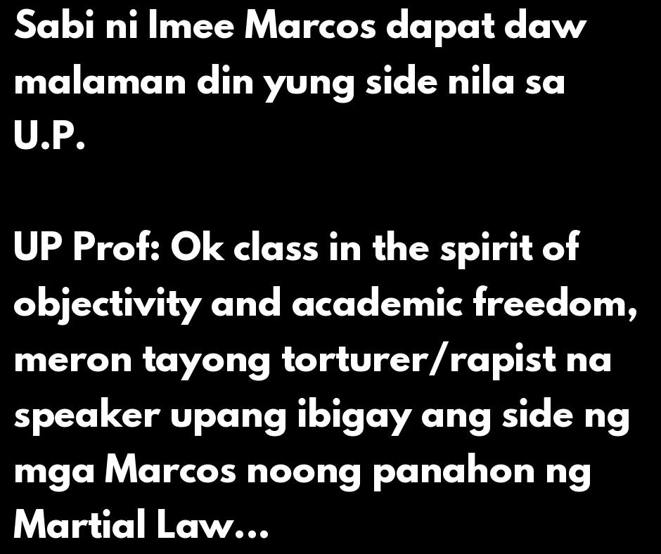How to objectively teach Ferdinand Marcos Martial Law
