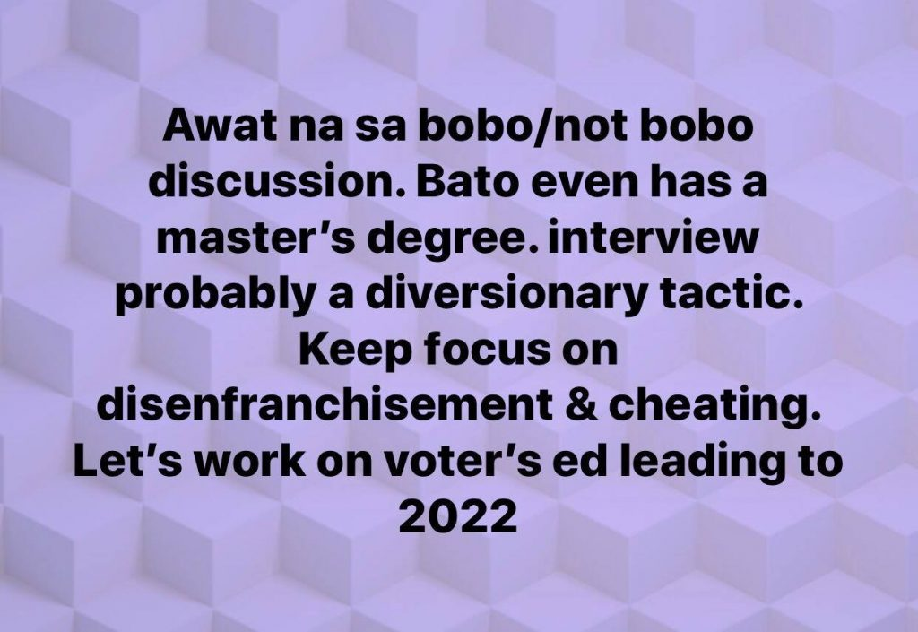 Everyone Has A Right To Call Anyone Who Clearly Did Wrong 'BOBO'