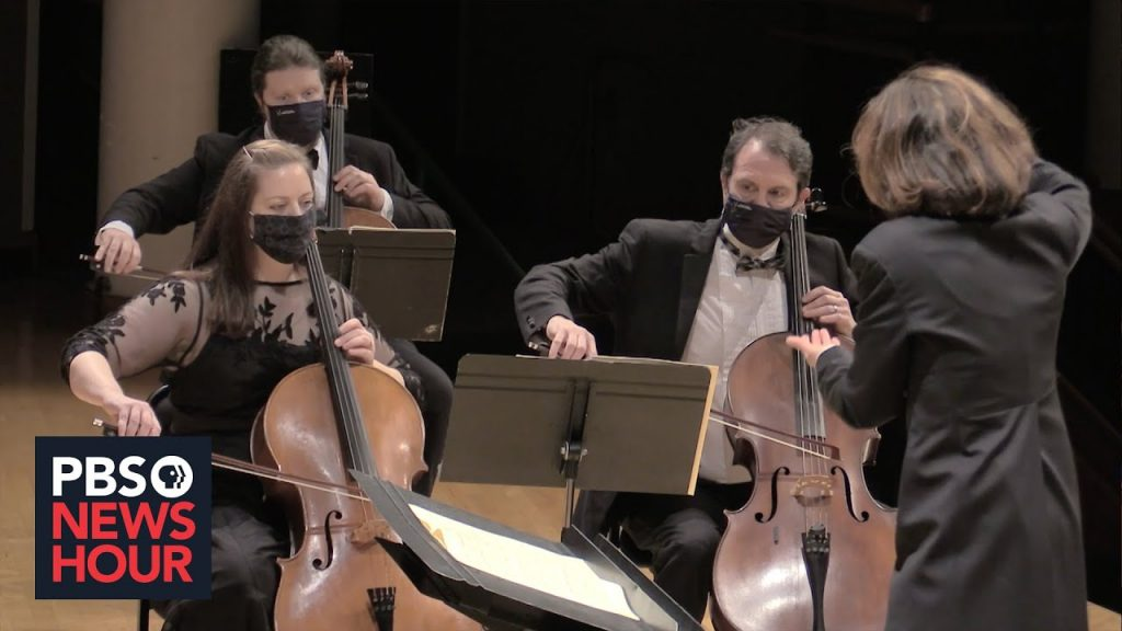 WATCH: Vancouver Symphony Orchestra performs COVID tribute