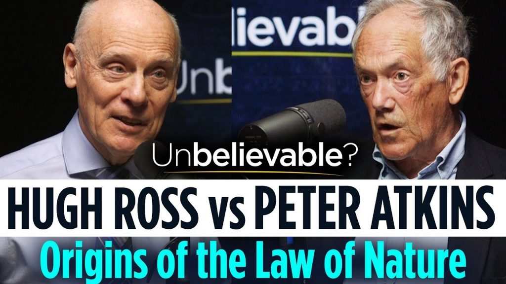 Hugh Ross vs Peter Atkins • Debating the origins of the laws of nature